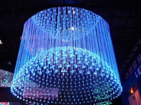 fiber optic chandelier a do it yourself project that is and can save money