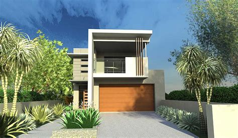 modern home design for narrow lot narrow lot house designs blueprint designs archinect