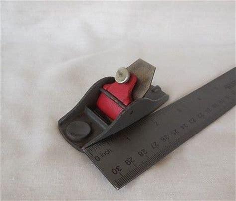 miniature woodworking vintage stanley miniature mini woodworking wood thumb