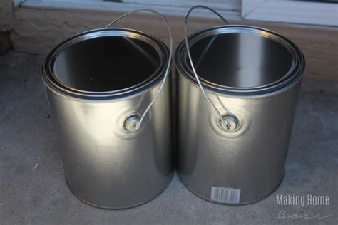 home depot paint can alternatives for traditional planters paint can planters