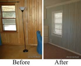 what to do with room in house before after wood paneling twobertis