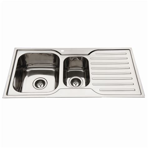 squareline 1080 kitchen sink with squareline 1080 kitchen sink with 1 3 4 bowl and drainer