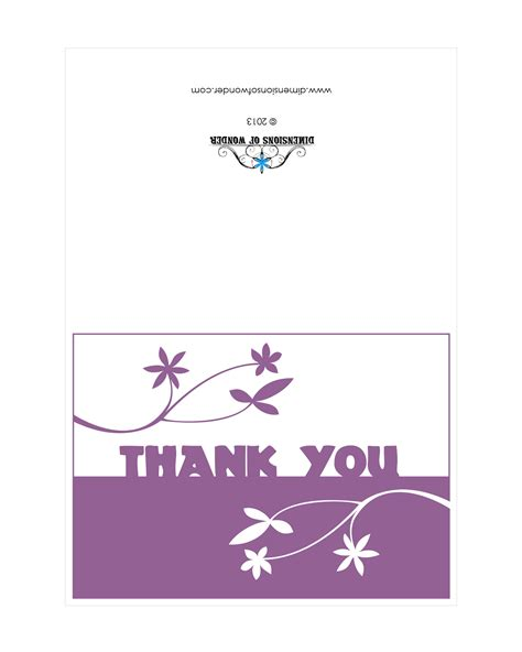 card for free to print thank you card wedding thank you printable cards thank
