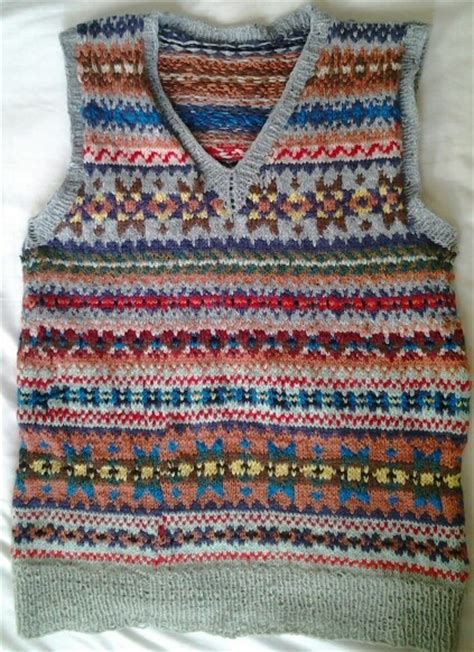 fair isle vest knitting patterns 383 best images about fair isle knitting on
