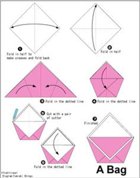 origami bags with paper thousands of ideas about origami bag on