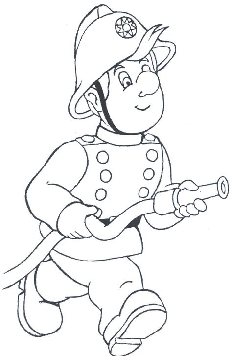 coloring book pictures to print printable firefighter coloring pages coloring me
