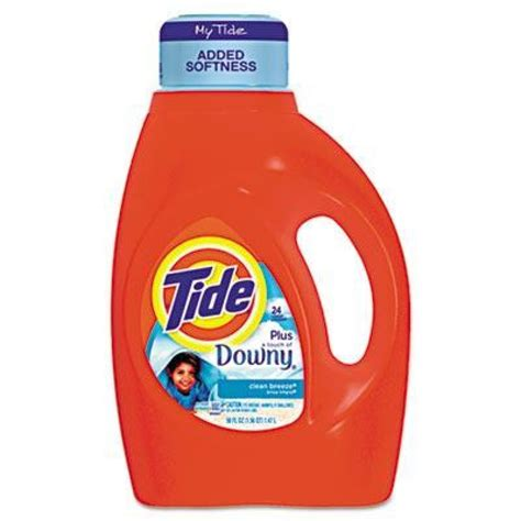downy laundry of tide with touch of downy liquid laundry detergent