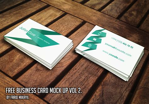 how to make business cards free 15 high quality free and premium business card mockup