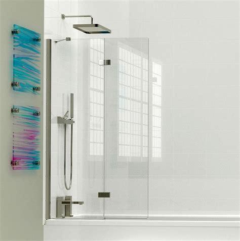 bi fold shower screens bath kudos inspirational 2 panel in fold bath screen