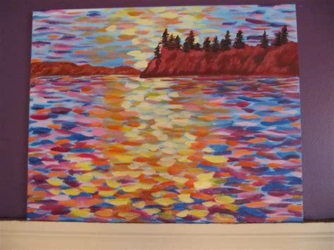 can acrylic paint go on canvas many hues acrylic painting on canvas
