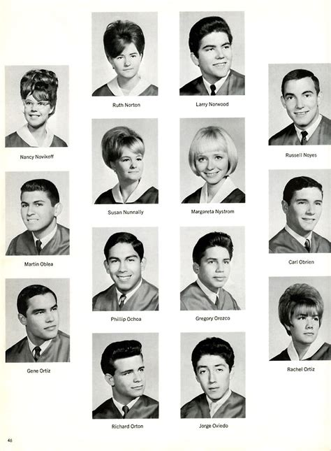year book picture santa fe high school class of 1967 yearbook graduation
