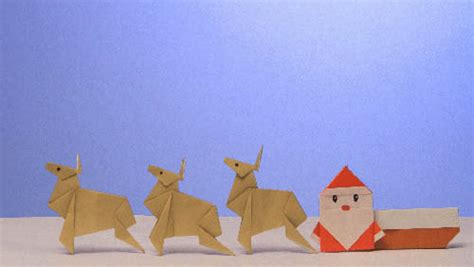 winter origami パペットbox 作品一覧