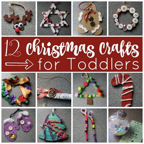 easy ornaments to make for 12 easy crafts for toddlers happy hooligans