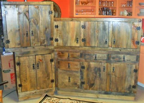 kitchen cabinets rustic made rustic kitchen cabinets by the bunk house studio