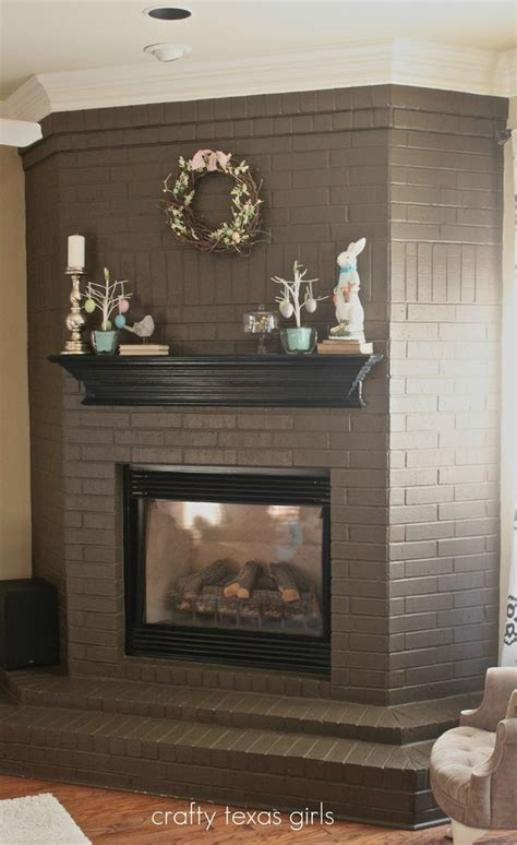 paint colors for fireplace 25 best ideas about black brick fireplace on