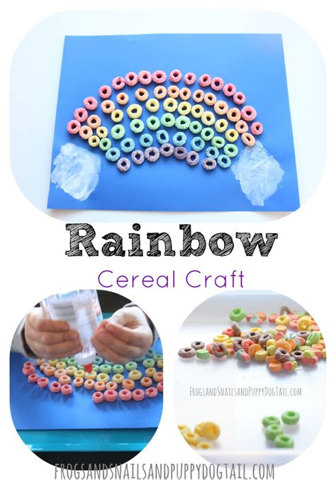 cereal crafts for rainbow cereal craft fspdt
