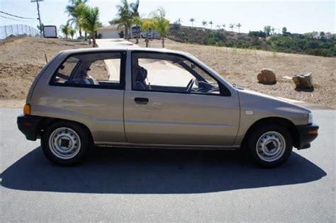 1990 Daihatsu Charade by 1990 Daihatsu Charade Se In El Cajon Ca 1 Owner Car