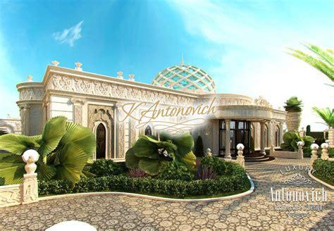 Free Kitchen Design Layout luxurious villa exterior abu dhabi