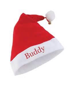 in santa hat personalised santa hat treats on trend