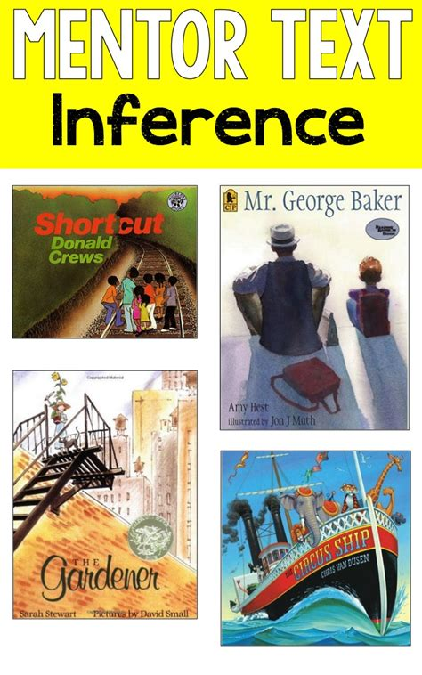 picture books for inferences reading mentor texts ashleigh s education journey