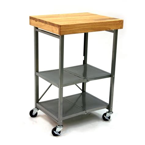 island kitchen carts origami 174 folding kitchen island cart 224145 kitchen