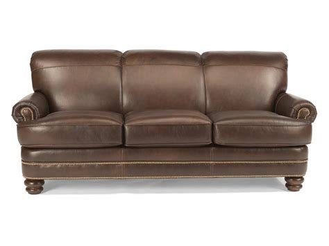 flexsteel leather sofa flexsteel living room leather sofa b3791 31 tin roof