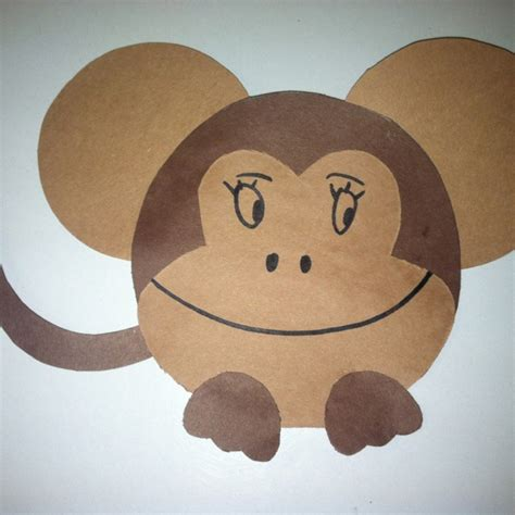 monkey craft for monkey craft crafts