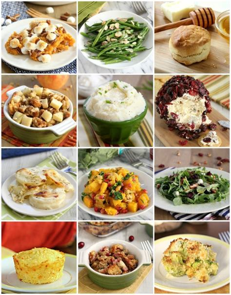 thanksgiving side dish recipe ideas eat drink