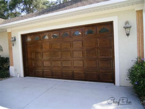 faux paint wood grain garage door 1000 images about furniture paint makeovers on