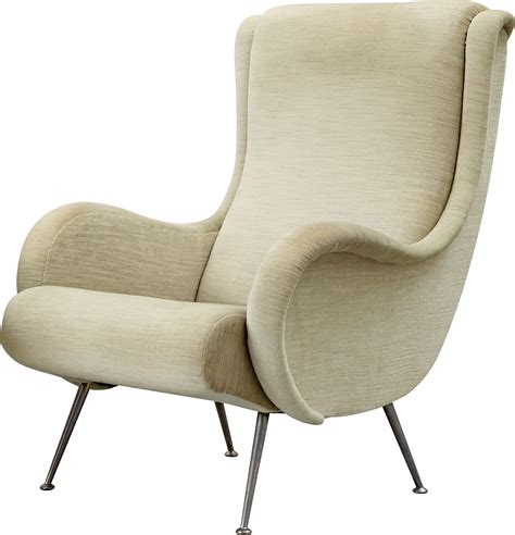White Armchair by White Armchair Png Image