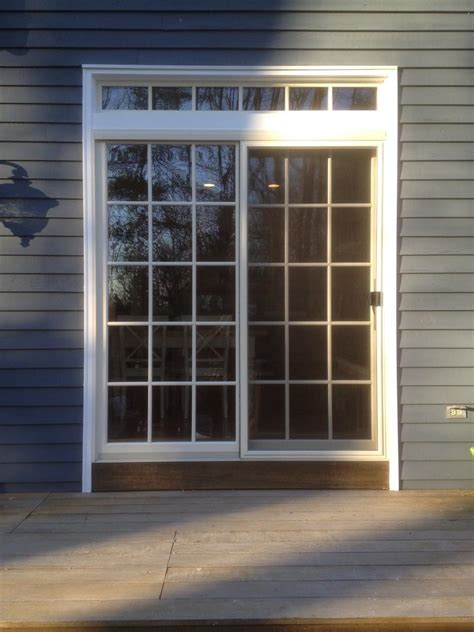 marvin sliding patio door marvin sliding patio door with top transom bernardsville nj
