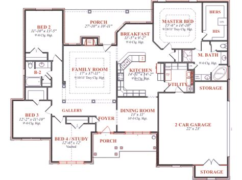 blueprints houses house 7728 blueprint details floor plans