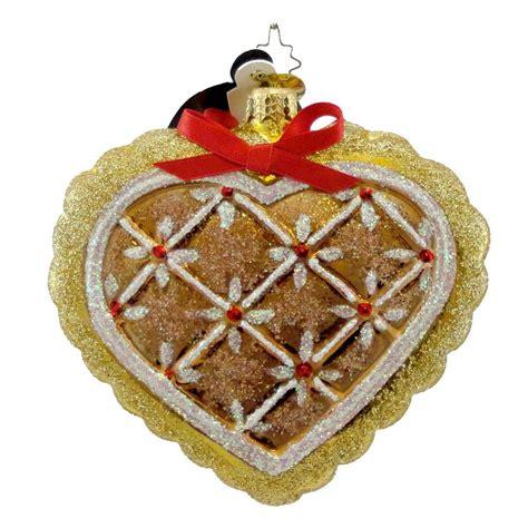 radko ornament christopher radko gingerbread ornaments