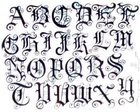 tattoo design tattoo fonts style
