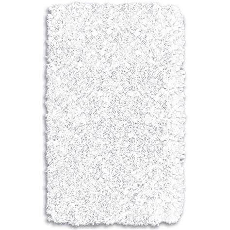 shaggy raggy white rug and nursery necessities in interior