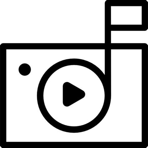 camaras de foto y video reproducir s 237 mbolo en c 225 mara de foto y v 237 deo iconos
