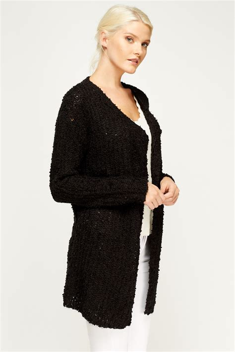 knit open front cardigan knit open front cardigan middle brown just 163 5