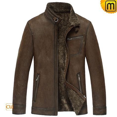 lined leather jacket fur lined leather jacket cw833356