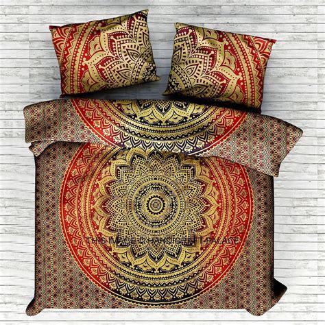 indian bedding set size indian mandala bedding set throw hippie