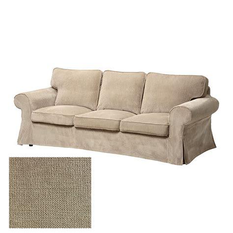 ikea slipcover sofa ikea ektorp 3 seat sofa slipcover cover vellinge beige