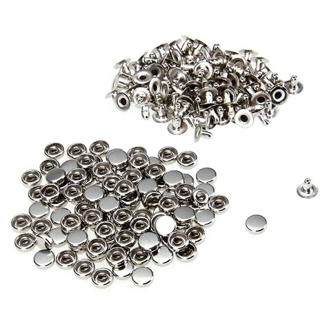 rivets for jewelry 100 iron silver rivet studs 6mm for jewelry lw