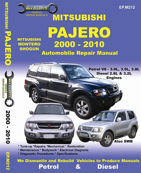 service manual free 1997 mitsubishi montero engine repair manual service manual transmission