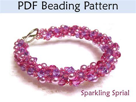 beaded bracelets patterns beading tutorial pattern bracelet necklace spiral