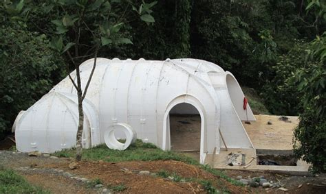 Zero Energy Home Design a green roofed hobbit home anyone can build in just 3 days