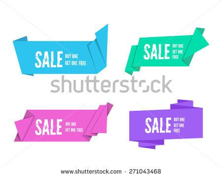 origami paper for sale banner design stock images royalty free images vectors
