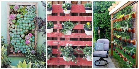 how to make a vertical wall garden 26 creative ways to plant a vertical garden how to make