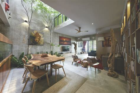 style homes with interior courtyards terrace house renovation o2 design atelier archdaily
