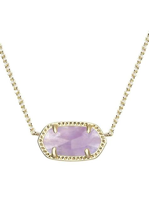 Nature Inspired Home Decor kendra scott elisa amethyst necklace from atlanta by