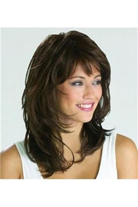 hairstyles with medium to haircuts with bangs 1000 ideas about