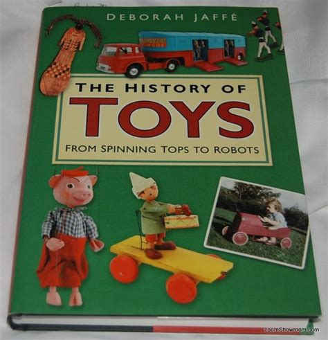 picture books about toys book338 the history of toys by deborah jaffe antique